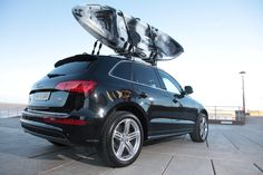 The Channel Kayaks Bass on the Audi Q5