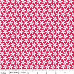 Doodlebug Designs - Sweetcakes - Petals in Red