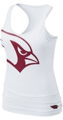 Nike Big Logo Tri-Blend NFL Arizona Cardinals Women's Tank Top