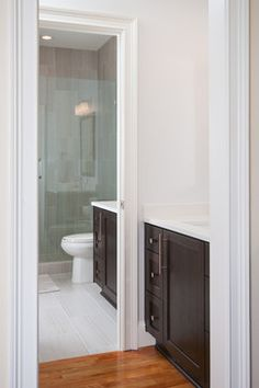 AFTER Breton Circle Basement/Jack n'Jill Bath Remodel - transitional - Bathroom - Atlanta - Innovative Construction Inc.