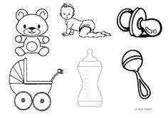 Baby Coloring Pages - Bing images Baby Coloring Pages, Adult Coloring, Baby Footprint Art, Baby Footprints, Pattern Pictures, Baby Shower, Cute Diys, Crochet Blanket Patterns, Doll Patterns
