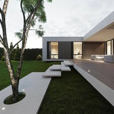 Villa Design, Design Art, Dream Home Design, Modern House Design, Small House Design, Contemporary Design, Modern Architecture House, Interior Architecture, Modern Architects