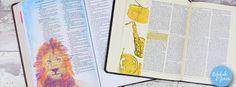 Bible Art Journaling Challenge Week 34 Notice