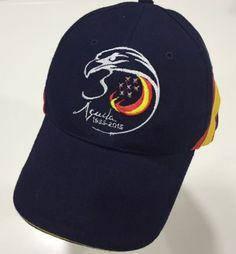 Gorra 30 Aniversario Patrulla Águila marino con bandera España
