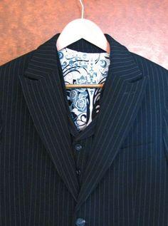 Handmade vegan suit.