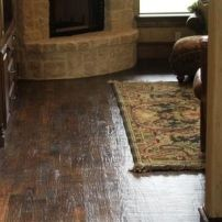 Hand Scraped Hardwood Floors