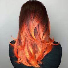Some hair color inspiration this morning by  @kateloveshair Valley of Fire…