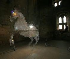 Stella mccartneys lucky spot swarovski horse chandelier image result for horse chandelier aloadofball Choice Image