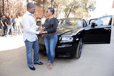 Photos: Controversial Pastor Shepherd Bushiri Gets Rolls Royce Ghost From Wife As Anniversary Gift