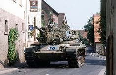 """US Army in Germany during """"Reforger"""", 80's."""