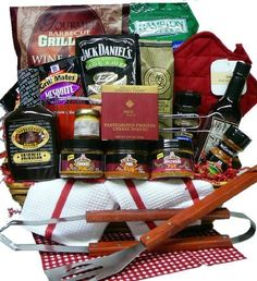 Art of Appreciation Gift Baskets   Grilling Creations Spice it up Right BBQ Sauce and Fixins Set by Art of Appreciation Gift Baskets, http://www.amazon.com/dp/B00064YZJC/ref=cm_sw_r_pi_dp_KS4Nrb015ZJHS