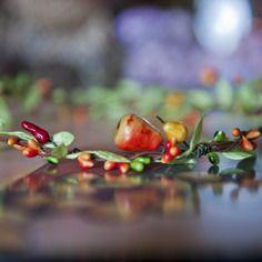 Jolie couronne fruitée du jardin pour lutin