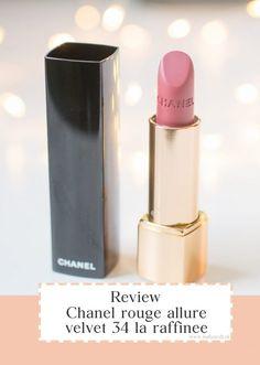Review: Chanel rouge allure velvet 34 la raffinée – Natizavdl Lipstick, Velvet, Chanel, Beauty, Beleza, Lipsticks, Rouge