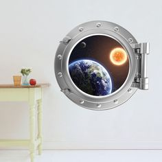 SHARE & Get it FREE | 3D Stereo Space Capsule Design Removable Wall StickersFor Fashion Lovers only:80,000+ Items • New Arrivals Daily • Affordable Casual to Chic for Every Occasion Join Sammydress: Get YOUR $50 NOW!