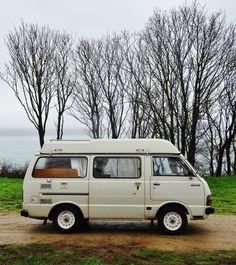 Van Life Model: Toyota Hiace, 1981 Location: Bretagne, France