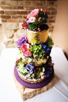 Wedding Cake Unusual Gold