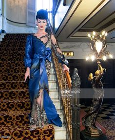 Violet Chachki attends the Finale Of Logo's 'Rupaul's Drag Race' Season 8 at The Orpheum Theatre on May 10, 2016 in Los Angeles, California.