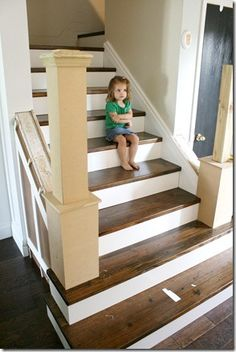 How to redo stairs for Ideas for redoing stairs