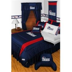 4f175597a New England Patriots Bed In A Bag Set Fifa
