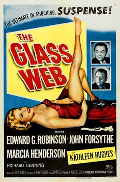 'The Glass Web', 1953, Edward G. Robinson (film noir)