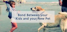 Setting up a bond between your kids and your new pet  #dogsoftwitter #dogs #pets #PetCare #cats
