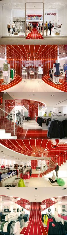 Centauro Concept Store Design by AUM Architects, São Paulo, Brazil