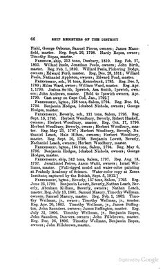 Schooner Friendship.  1795. Nathaniel Leach, part owner.  Great Grandfather of Captain Arthur Leach  from Ship Registers of the District of Salem and Beverly, Massachusetts, 1789-1900 - A. Frank Hitchings, Stephen Willard Phillips, Essex Institute - Google Books