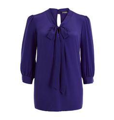 Light navy blue blouse.