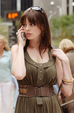 Anne Hathaway in casual wear