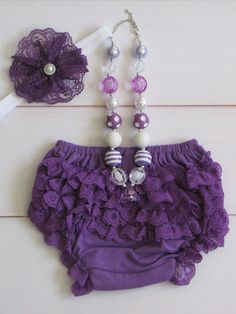 Sale- Purple 1st Birthday Outfit for Baby, or Cake Smashing Outfit. Perfect Photo Prop. on Etsy, $19.99
