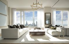 Furniture Decor, Modern Furniture, Real Estate Advertising, Real Estate Staging, Denver Real Estate, Pent House, White Decor, Furniture Collection, Luxury Real Estate