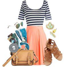 #daytime #skirts #printedscarves
