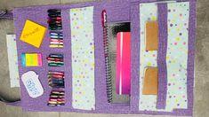 DIY organizador vertical de material escolar #materialescolar #diy #organizadores Office Supplies, Notebook, Diy, Pens, Log Projects, School Supplies, Organizers, Tutorials, Bricolage