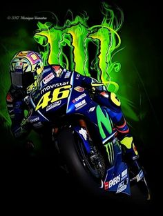 Monster Motorcycle, Motorcycle Racers, Moto Bike, Foto Valentino Rossi, Valentino Rossi Yamaha, Birthday Background Images, Best Photo Background, Monster Energy Supercross, Comic Book Girl