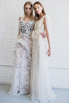 White Lace Rodarte Dresses