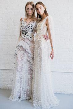 White Lace Rodarte Dresses