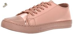 Qupid Women's Narnia-07 Fashion Sneaker, Rose Gold, 6 M US - Qupid sneakers for women (*Amazon Partner-Link)