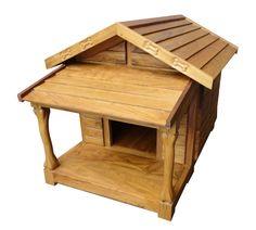 dog house   SMALL WOOD DOG HOUSE