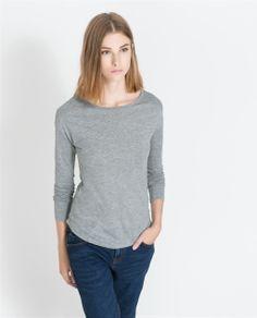 Imagem 1 de T-SHIRT BÁSICA da Zara