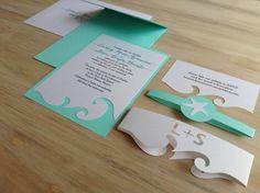 Invitación de boda invitación de la boda de destino por TheFindSac