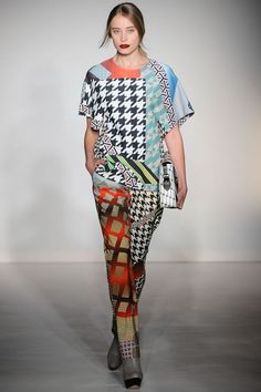 Basso & Brooke Autumn/Winter 2012 Ready-To-Wear Collection | British Vogue