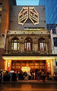 experiences - the cost of theatre tickets go down considerably when bought in numbers as well. Altogether a better deal for everyone! Day For Night, Night Time, Toronto Film Festival, Festival 2017, Winter Garden Theatre, Toronto Architecture, 10 Picture, Weekend Getaways, Ontario