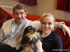 The League of British Artists: Martin Freeman slams Sherlock trolls over Amanda Abbington abuse