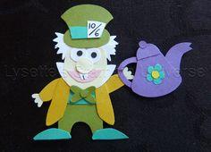 Foxbuilderpunch challenge dag 91: Mad Hatter #Wonderland https://www.facebook.com/Lysettes.stampin.universe