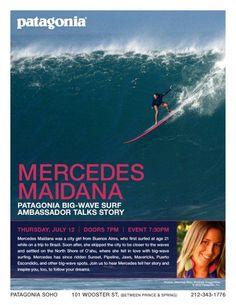 Mercedes Maidana: Big Wave Surfer & City Girl