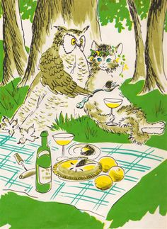 The Owl and the Pussy-Cat - illustrated by Barbara Cooney