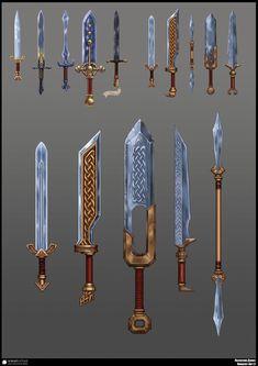 Ritter Schwerter Konzept von De-Prime auf DeviantArt – Delena Forever – join in the world of pin Fantasy Sword, Fantasy Armor, Fantasy Weapons, Sword Drawing, Sword Art, Inspiration Drawing, Knight Sword, Armas Ninja, Types Of Swords