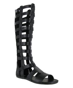 c2941702 zulily | something special every day Gladiator Sandals, Black Shoes,  Calves, Shoe Boots