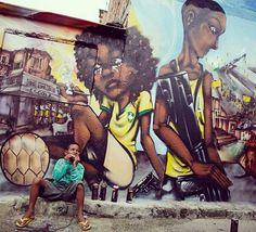 "128 Likes, 7 Comments - Favela Originals (@favelaoriginals) on Instagram: ""Favela street art. #favela #favelaoriginals #streetart #streetartrio #londongraff #graffiti #brazil…"""