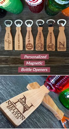 If you are looking for a beautiful, simple, personalized, thoughtful gift idea look no further! These incredible, personalized bottle openers make the perfect gift for any occasion. Made from m (Bottle Gift Ideas) Wedding Gifts For Guests, Gifts For Wedding Party, Wedding Favours, Party Gifts, Our Wedding, Dream Wedding, Wedding Ideas, Personalized Bottle Opener, Personalized Gifts